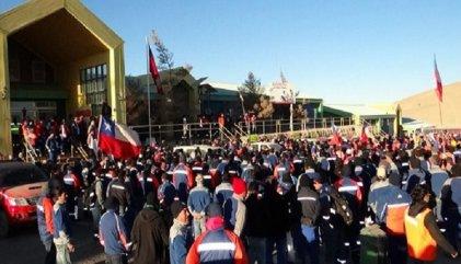 Comienza la huelga en Escondida: a rodear de solidaridad por el triunfo de los mineros