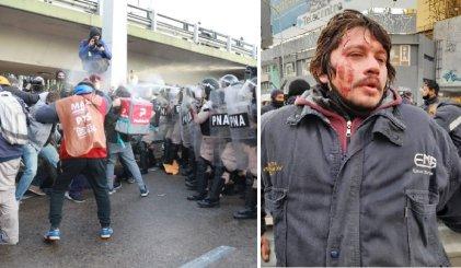 Organismos de derechos humanos repudian la represión del Gobierno en el Puente Pueyrredón