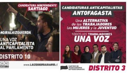 Chile: la izquierda anticapitalista obtuvo 15.000 votos en dos distritos