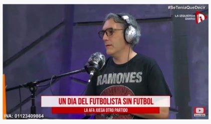 En un Día del Futbolista sin fútbol, la AFA juega otro partido