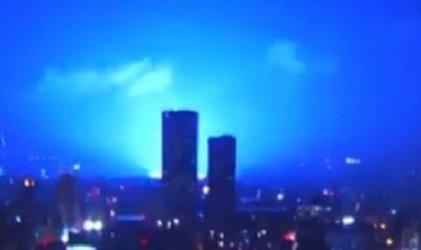Terremoto en México: las extrañas luces en el cielo que lo acompañaron