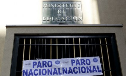 Hoy en Chile: paro educativo y movilizaciones en defensa de la educación