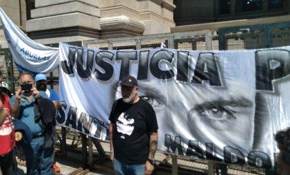 Santiago Maldonado: concentraron en Tribunales para exigirle respuestas a la Corte