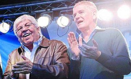"""Walmart: Moyano y De Narváez negociaron en el despacho de Massa y """"cerraron"""" el conflicto"""
