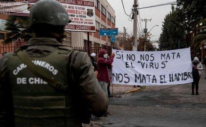Frente al pacto nacional de Piñera, una salida de fondo a la desocupación y el hambre