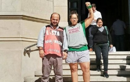 Cayeron las imputaciones contra Natalia Pérez y Hernán Centeno por marchar contra la OMC