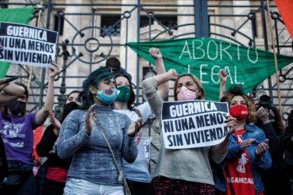 28S: el reclamo del aborto volvió a escucharse en las calles