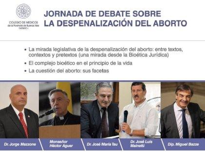 La Plata: La Iglesia y el Colegio de Médicos aliados contra el aborto