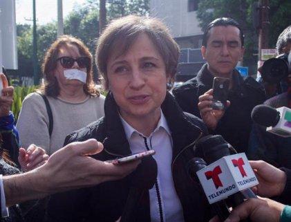 Empresa MVS solicita cambio de juez en caso Aristegui
