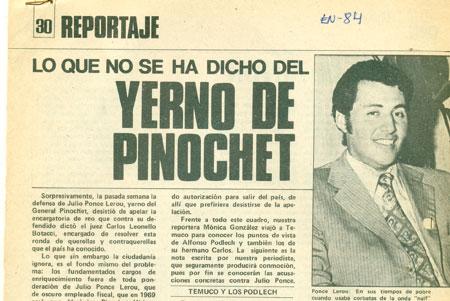 ¡Déjà vu! Entre el 83' y 87' Julio Ponce también dio paso al costado de SQM para contener denuncias de corrupción