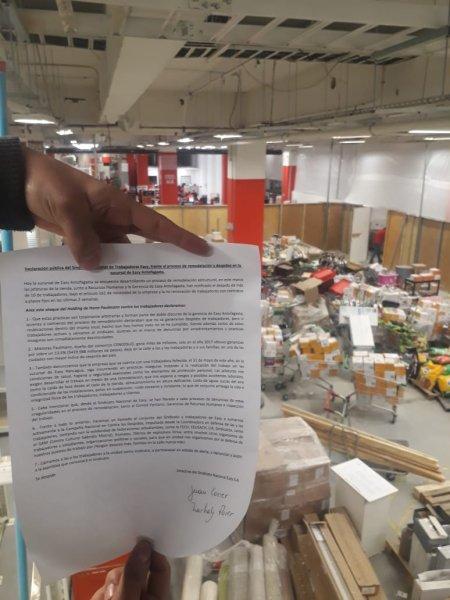 Paulmann: despidos y vulneración en la seguridad de los trabajadores