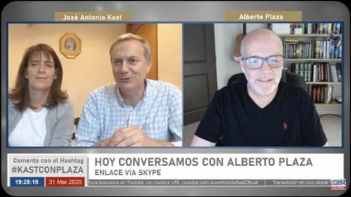 Youtube: bajan programa en vivo de Kast y Alberto Plaza luego de recibir miles de denuncias
