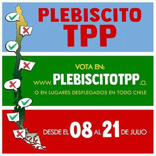 Plebiscito por el TPP11: ¿Qué hacer para demostrar nuestro rechazo?