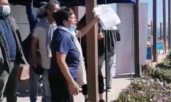 Denuncian que Minera Los Pelambres demanda a mujer de 80 años por no querer vender su casa