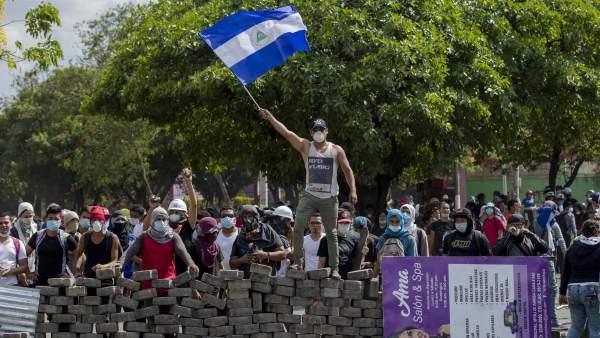 Oposición Nicaragüense anuncia nuevo paro nacional