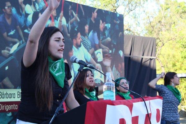 """Bárbara Brito: """"Tomamos las ideas de Rosa Luxemburgo para preparar el paro internacional de mujeres este 8 de marzo"""""""