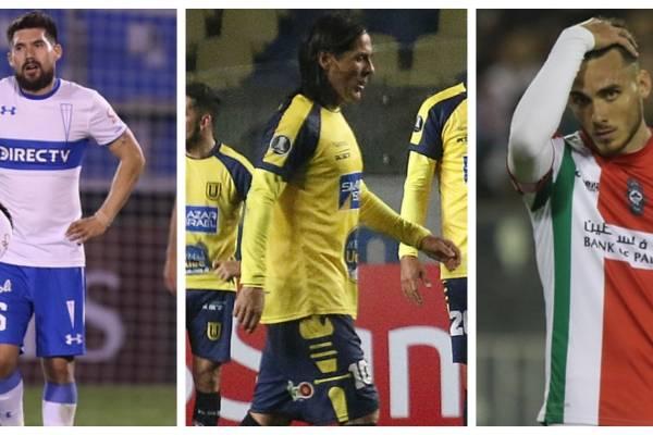 Bajo desempeño de clubes chilenos en torneos del continente