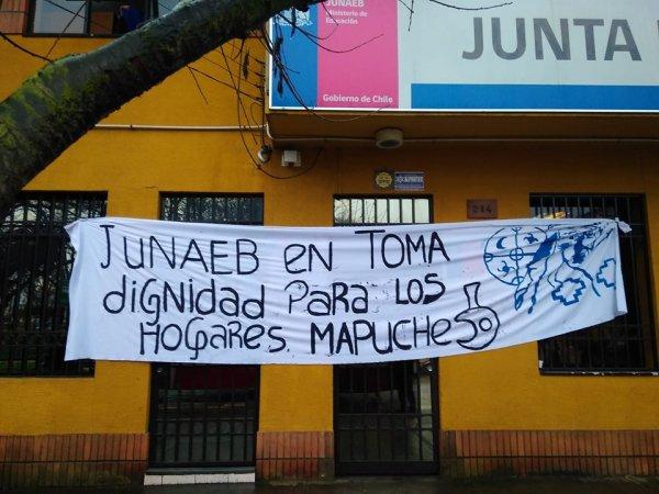 """""""Dignidad para los hogares mapuche"""": las precarias condiciones de los estudiantes mapuche"""