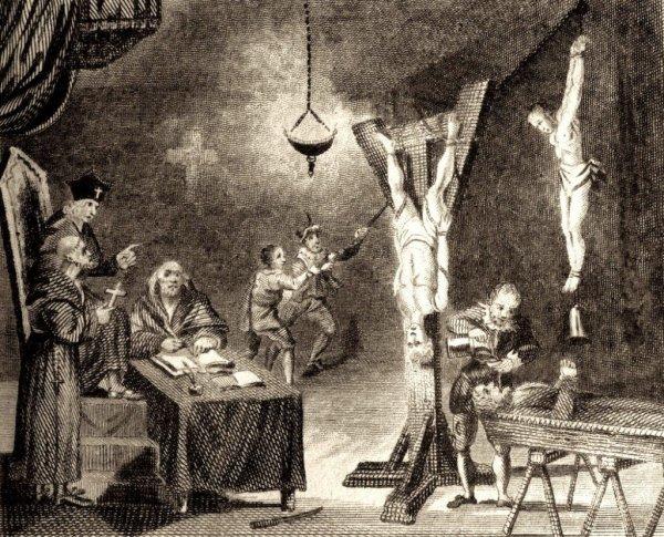 Algunas de las torturas más crueles de la Santa Inquisición