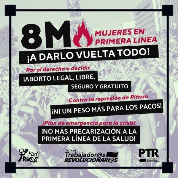 Convocatorias en todo el país llaman a las calles este 8 de marzo